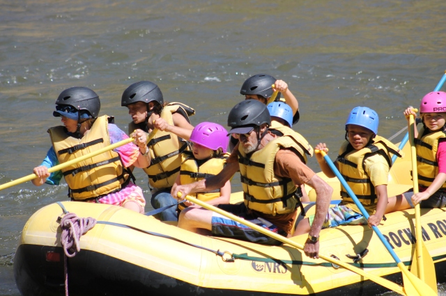 theresa nic trisitin and the bulls rafting