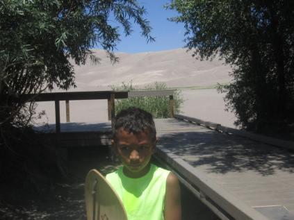 k at sand dunes